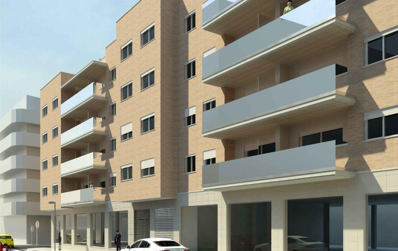 Farbskizze Fassade und Balkone