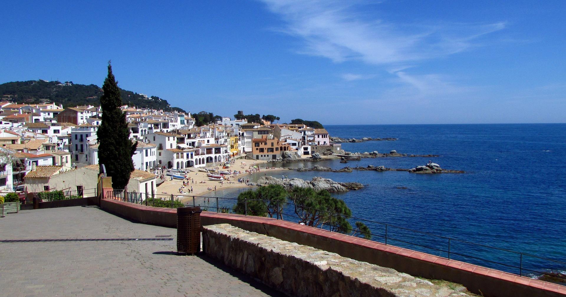 Der Ort Calella de Palafrugell an der Costa Brava