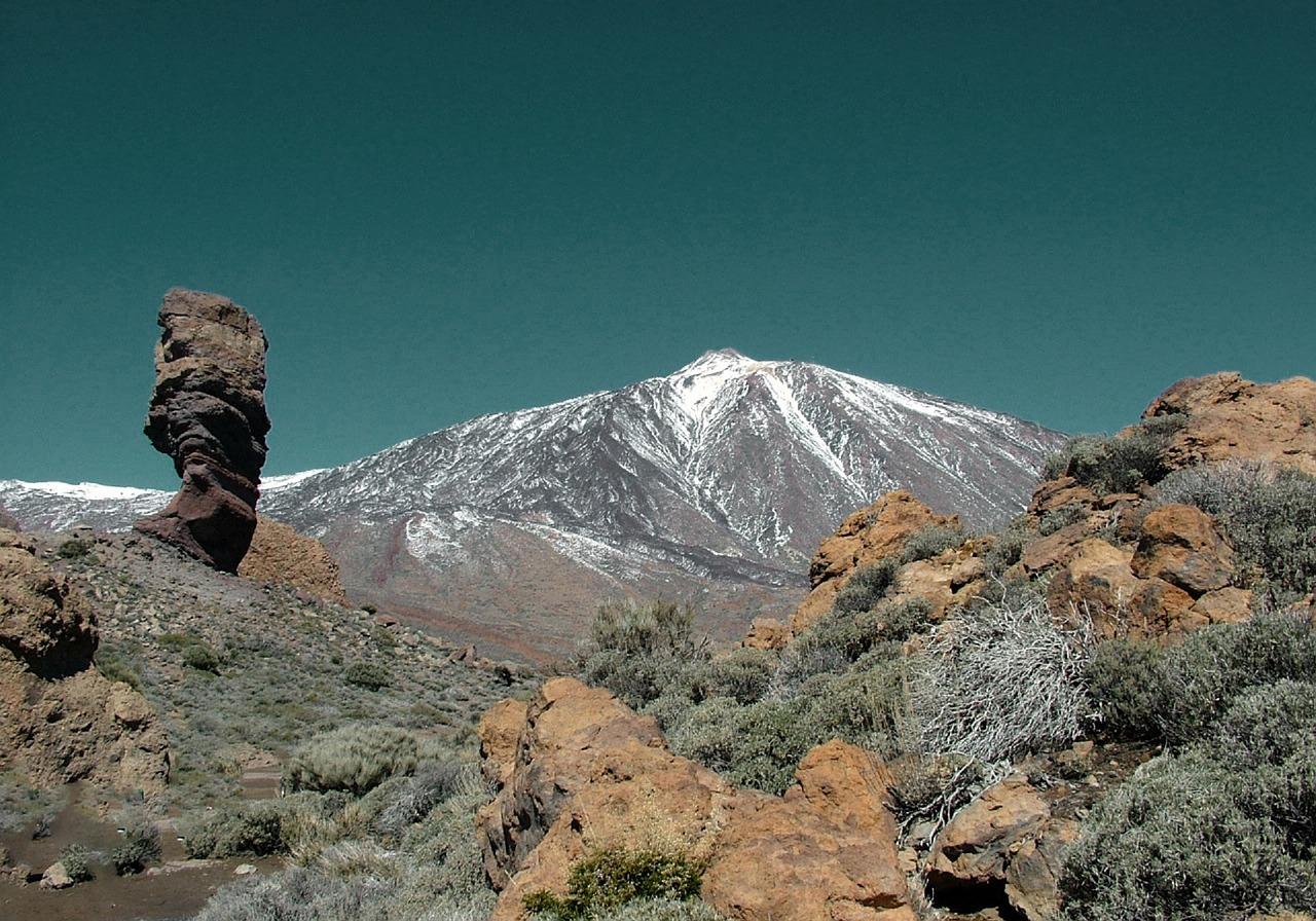 Der 3718 Meter hohe Teide